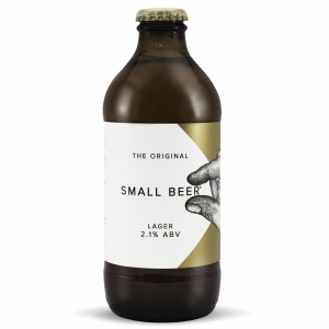 Small Beer Lager 2.1% (24 x 350ml)