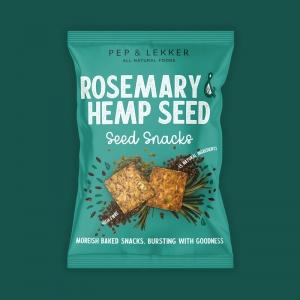Pep & Lekker Rosemary & Hemp Seed Snacks