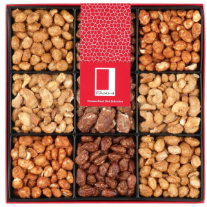 Caramalised Nut Selection in a Gift Box
