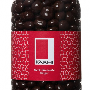 Plain Chocolate Coated Ginger in a Gourmet Gift Jar
