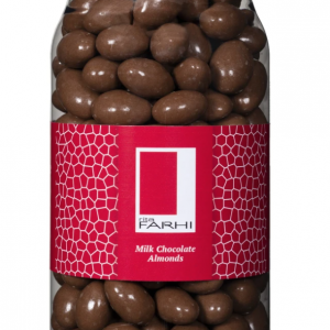 Milk Chocolate Coated Almonds in a Gift Jar 770 g