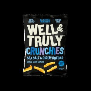 Crunchies Sea Salt & Cider Vinegar 30g