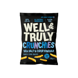 Crunchies Sea Salt & Cider Vinegar 100g