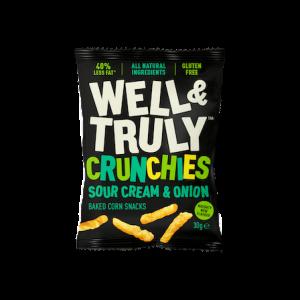 Crunchies Sour Cream & Onion 30G