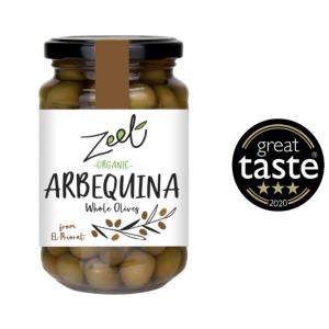 ZEET Organic Arbequina Olives