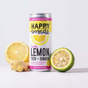 Lemon, Yuzu & Ginger - Gut Health Drink
