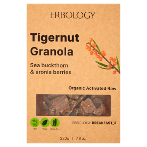 Tigernut Granola with Sea Buckthorn