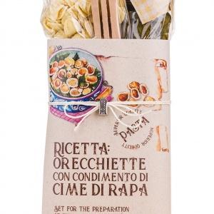 Orecchiette & Broccoli Rabe Sauce Pasta Kit