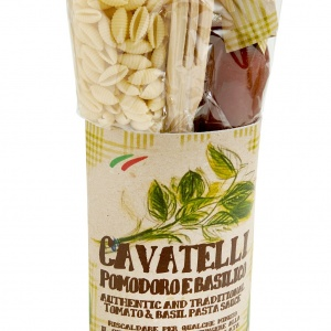 Cavatelli with Tomato & Basil Pasta Kit