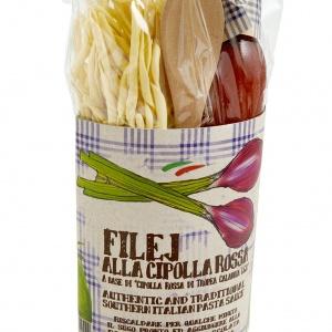 Fileja Pasta with Tropea Onion Sauce Kit