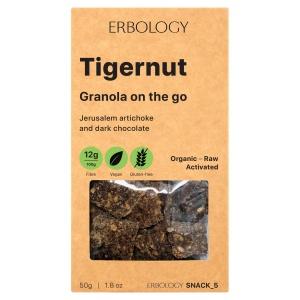 Tigernut Granola with jerusalem artichoke and dark chocolate - On the Go