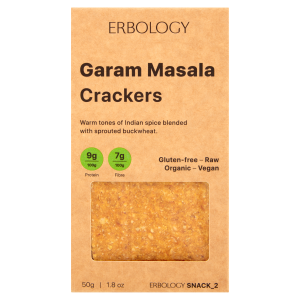Organic Garam Masala Crackers