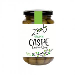 Organic Caspe Broken olives 210g