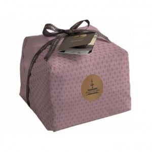 Hand Made Panettone with raisins & almond topping
