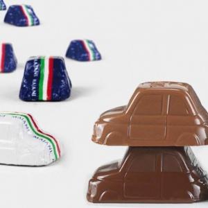 Majani Cinquino Gift Bag (Fiat 500 Chocolate Cars)