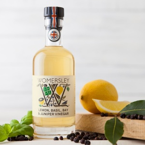 Lemon, Basil, Bay & Juniper Vinegar (250ml)