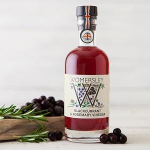 Blackcurrant & Rosemary Vinegar (250ml)