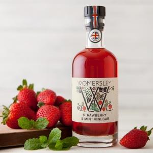 Strawberry & Mint Vinegar (250ml)