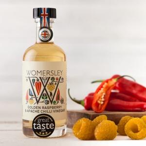 Golden Raspberry & Apache Chilli Vinegar (100ml)