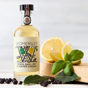 Lemon, Basil, Bay & Juniper Vinegar (100ml)