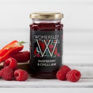 Raspberry & Chilli Jam (200g)