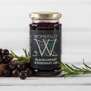 Blackcurrant & Rosemary Jam (200g)
