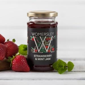 Strawberry & Mint Jam (200g)