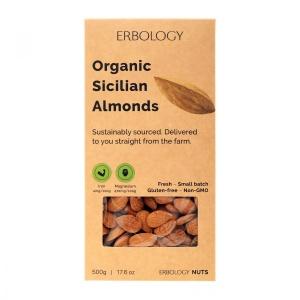 Organic Raw Sicilian Almonds
