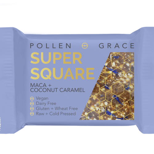 Coconut Caramel+ Maca Super Square