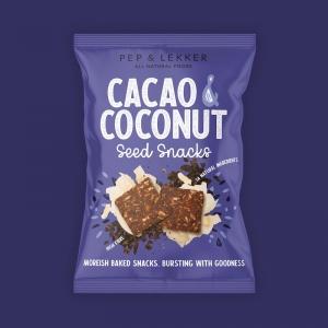 Pep & Lekker Cacao & Coconut Seed Snacks