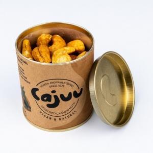 Vanilla and Salted Caramel Cashew Nut Tube
