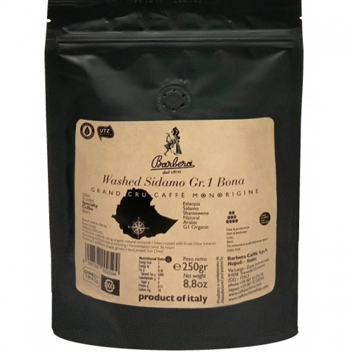 WASHED SIDAMO GR.1 BONA - SINGLE ORIGIN COFFEE BEAN 250GR