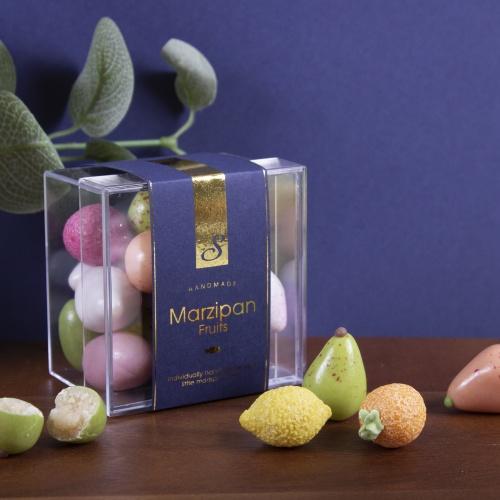 Handmade Luxury Vegan Sugar Coated Marzipan Fruits